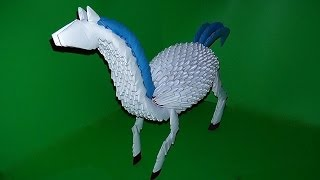 3d Origami Horse Tutorial Instruction