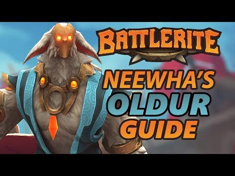 Oldur Battlerite Guide and Loadout Overview
