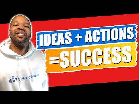 WiFi Entrepreneur: How Ideas + Action = Success | Online Affiliate Marketing Guide: Journal 49