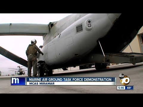Marine Air Ground Task Force demonstration