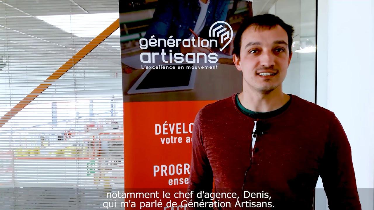 Artisan Qualifié Du Batiment témoignage d'n artisan membre génération artisans (région est)