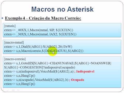 Macros no Asterisk parte 4