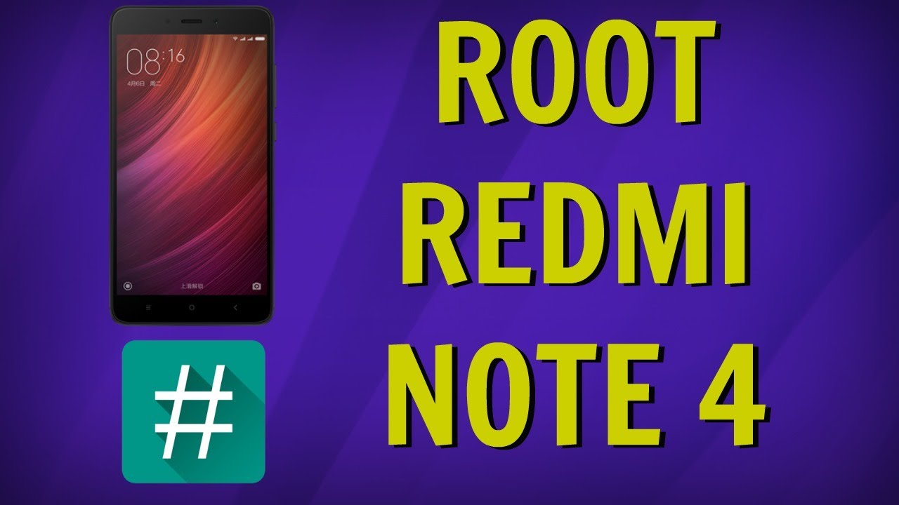 Root Redmi Note 4 and Install TWRP [100% Working Method]