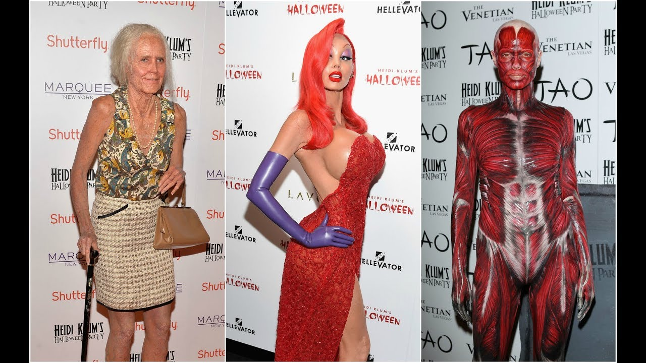 18 Of Heidi Klums Best Ever Halloween Costumes Youtube