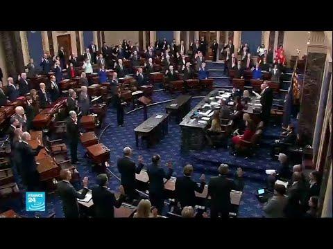مجلس الشيوخ الأمريكي يباشر الثلاثاء محاكمة تاريخية لدونالد ترامب  - نشر قبل 1 ساعة