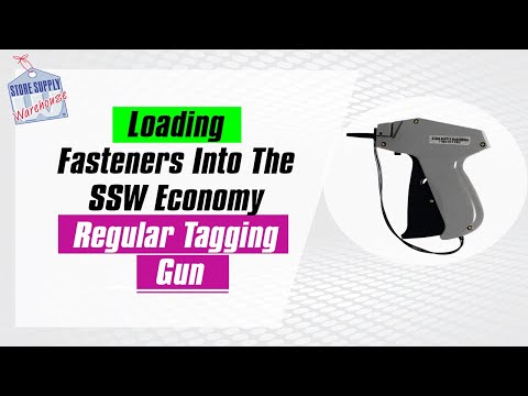 Loading Fasteners On The Regular Economy Tagging Gun