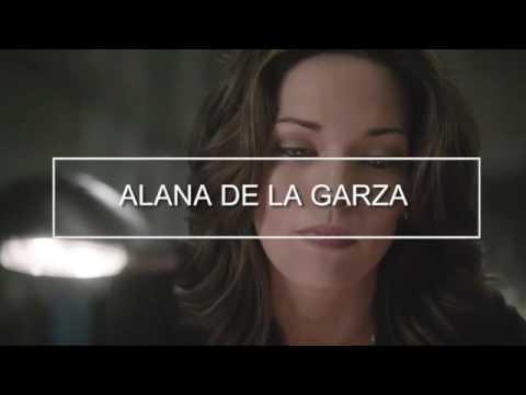 Alana de la garza dating
