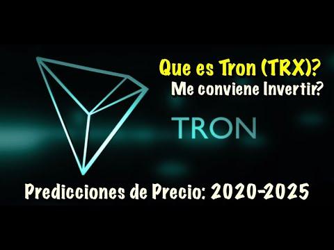 TRON TRX Que es? Predicciones de Precio 2020 2025   me conviene invertir?? 1