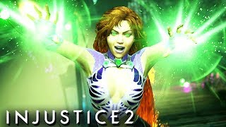 Injustice 2 Gameplay German Multiverse Mode - Starfire Story