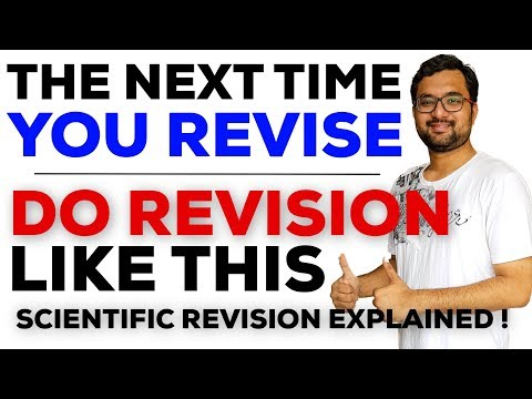 पढ़ो तो ऐसे पढ़ो | Study To Remember for Long Time | How to Plan Revision Effectively