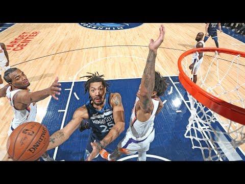 Derrick Rose Game Winner Vs Suns! 2018-19 NBA Season
