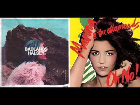 Oh No! Gasoline! - Marina And The Diamonds & Halsey (Mashup)