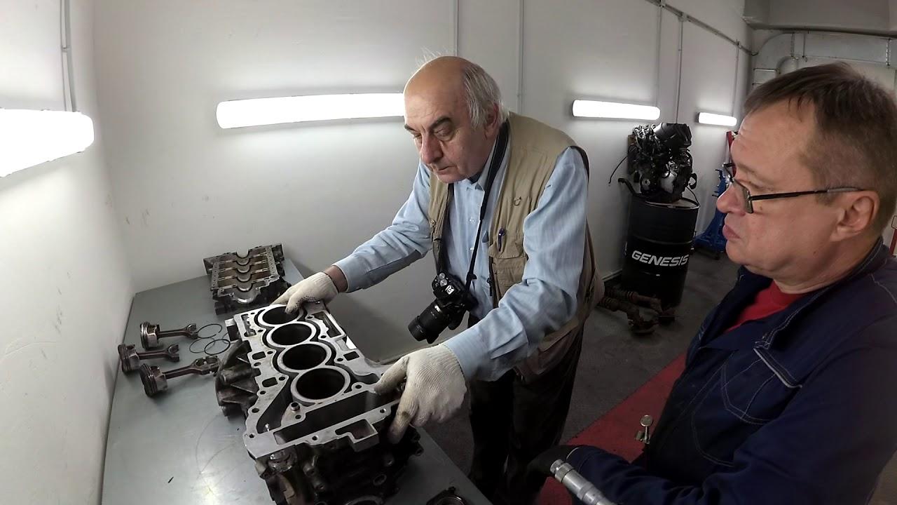 Экспертиза застучавшего мотора BMW N20 экспертом НАМИ после сборки в криворуком сервисе