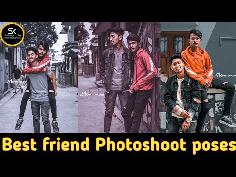 Bestfriend Photoshoot poses | Live Photoshoot | Pose with bro | Street Photoshoot | Sk photography