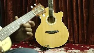 Joler Gan, Lal Paharer Deshe Ukulele Instrumental Cover by Ashish Kuntal