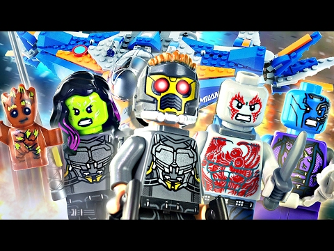 """LEGO Guardians of the Galaxy Vol. 2 : 76081 """"The Milano vs. The Abilisk"""" - Review"""