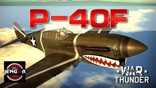 War Thunder Realistic: P-40F [Kittyhawk Goodness!]