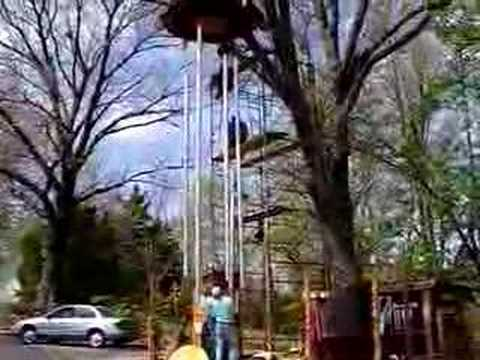 how to make giant wind chimes