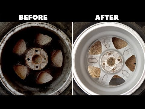 How to Super Clean your Wheels the Best way!!!