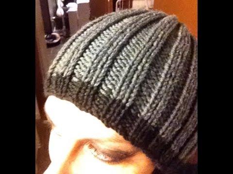Maglia tutorial come fare un cappello da uomo a coste 2 2 - Come far felice un uomo a letto ...