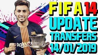 FIFA 14 | Update Winter Transfers 14/01/2019 | Mod Career Work 100%