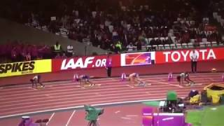 Dafne Schippers 22.05 wins 200m Women  Final-World Athletics  Champs London 2017