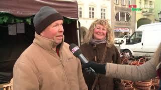 Trutnov - vánoční trhy (zprávy z Trutnova 19.12.2017)