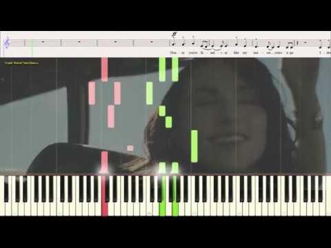 From Eden Hozier Piano Cover
