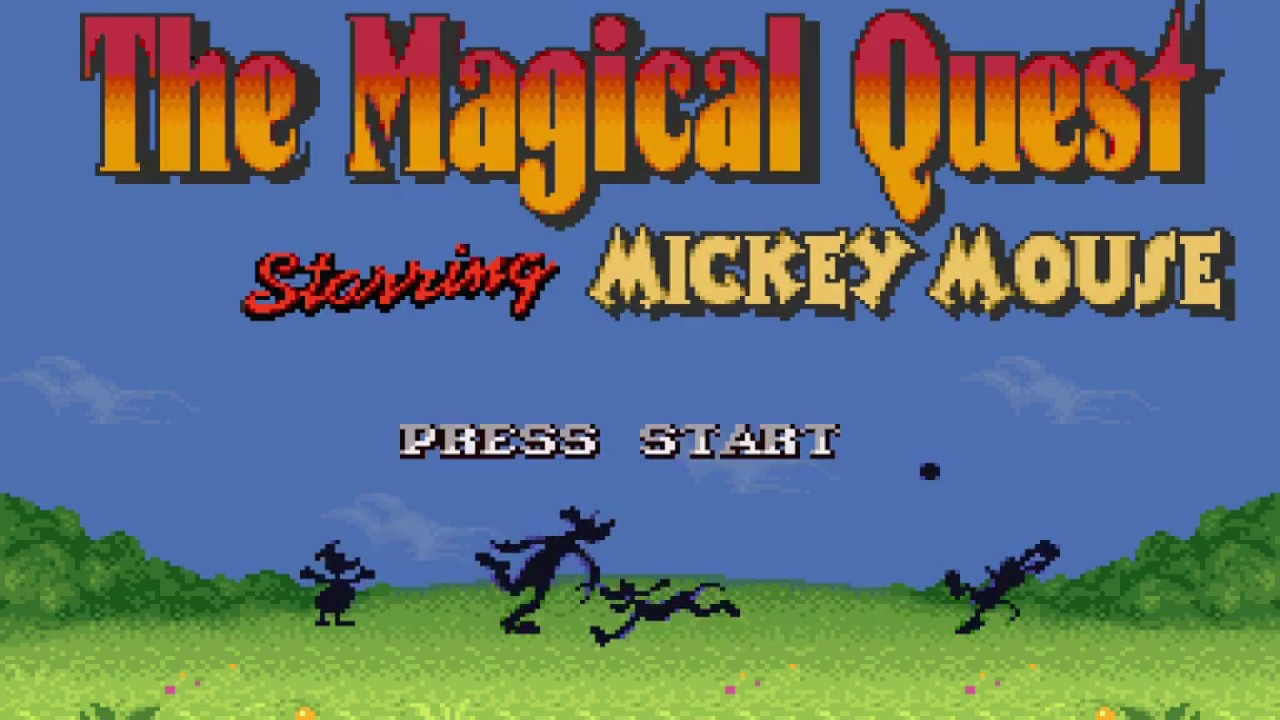 the magical quest starring mickey mouse snes  5 minute
