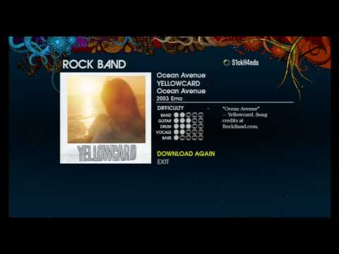 Rock Band Music Store for XBOX 360