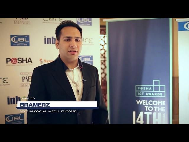 Bramerz at P@SHA ICT Awards 2017