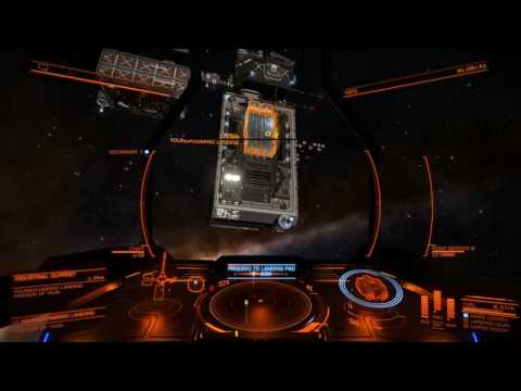Elite Dangerous  - Learning to fly my Type-6.