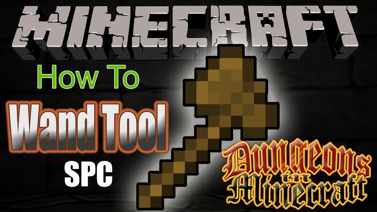 Wände Bauen Minecraft Minecraft Tutorial Quick Tutorial On How To Use The Wand Tool With Single Player Commands