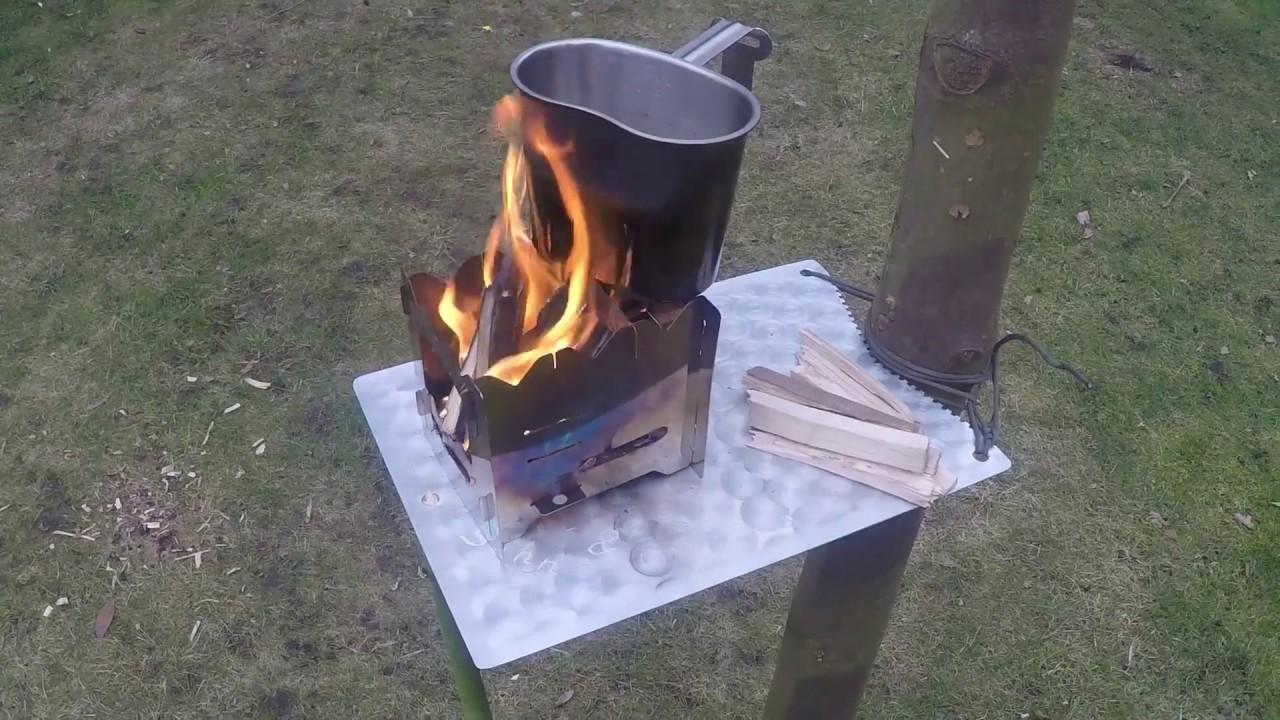 outdoor tisch hitzeblech baumtisch selber bauen youtube. Black Bedroom Furniture Sets. Home Design Ideas