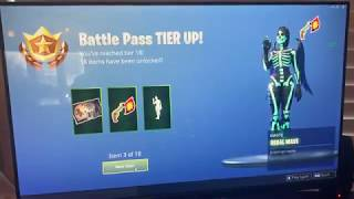 FREE Fortnite Tiers! 35 FREE TIERS FOR EVERYONE! Hurry up! Possible glitch? Fortnitemares
