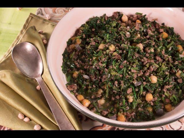 أسرع وأسهل الوصفات : MINI Recipe - سبانخ باللحم