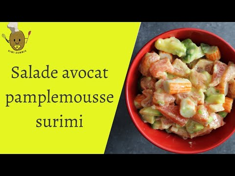 salade-avocat-pamplemousse-surimi