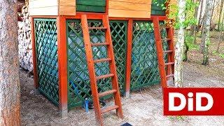 711. Architektura ogrodowa - jak zrobić drewniane kratki ogrodowe?