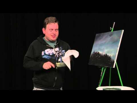 Painting Mt. Hood at Dusk (The Salem Painter   Ep 06)