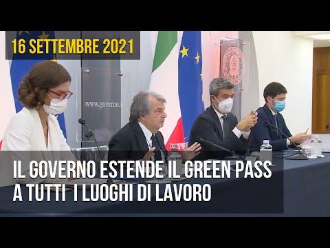 Il Governo estende il Green Pass a tutti i luoghi di lavoro