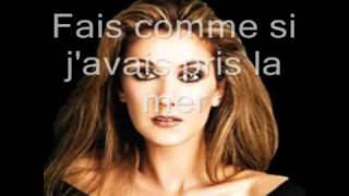 Garou and Céline Dion -- Sous le vent (lyrics and photos)