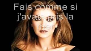 Garou and Céline Dion -- Sous le vent (lyrics and photos)