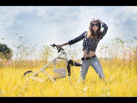 Велосипед Стрида с мотором