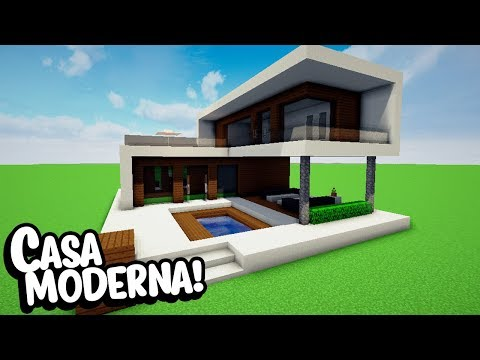 Minecraft casas for Casa moderna 4x4