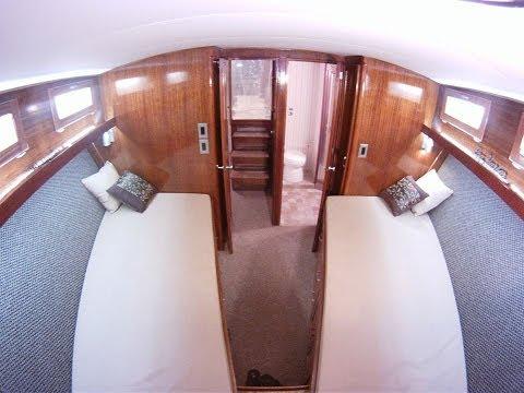 For Sale 1975 Egg harbor twin 453 diesel sportfish trawler. 99K