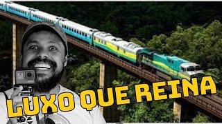 No maior trem de Passageiro do Brasil.