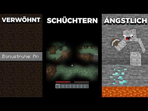 NEUE ARTEN VON SPIELERN in Minecraft !