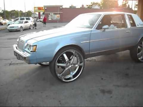G-Body Buick Regal On 28s - YouTube