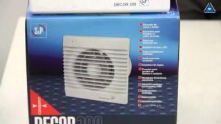 видео Вентилятор DECOR 300