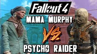 Mama Murphy VS Psycho Raider | Fallout 4 Battle Arena | Battle Request